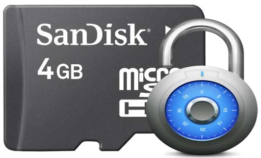 Recover-memory-card-password