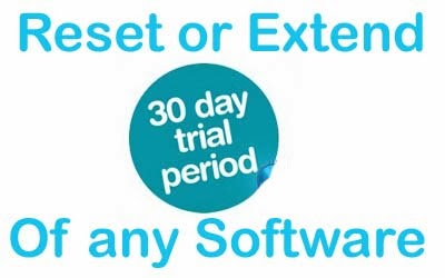 Reset or Extend trial period
