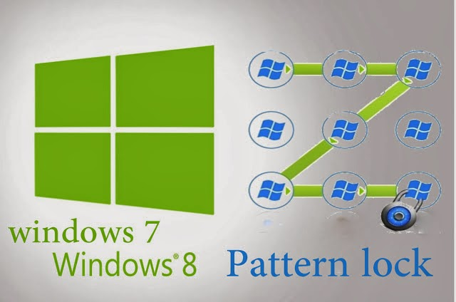 add pattern lock on windows PC