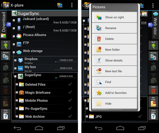 xplore-android-file-manager