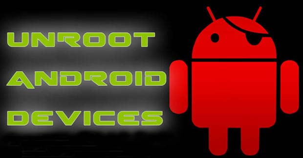 Unroot-Android-Devices